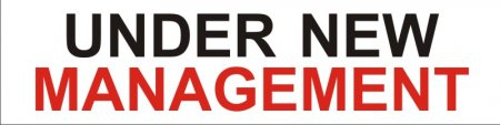 'Under New Management' Banner