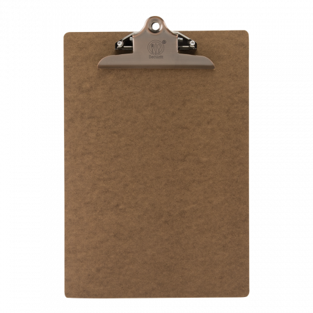 Vintage Styled Clipboard with Bronze Fixed Clip