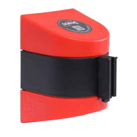 Red WallPro Wall Mounted Retracting Barrier