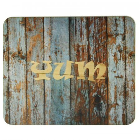 Rustic Wooden Personalised Placemat, Weathered