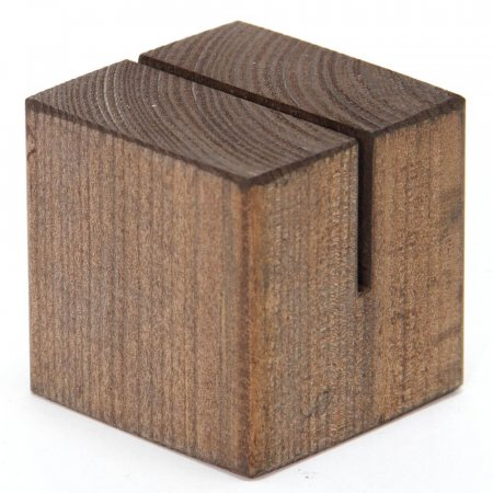 Menu Cube Solid Wood