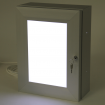 Aluminium Menu Case, Illuminated