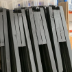 Free-standing Foldable Social Distancing Screens - Stored