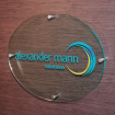 Glass Effect Sign