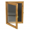 A3 Hinged Wooden Poster Frame Open