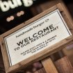 Rustic Wooden Welcome Stand 3