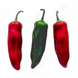 Artificial Large Chilli Peppers