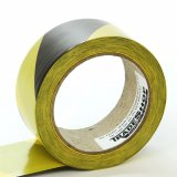Hazard Warning Tape - Self-Adhesive - Yellow & Black