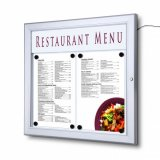 Aluminium LED Outdoor Menu Case