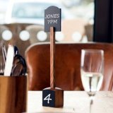 Table Marker With Chalk Board