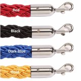 Twisted Barrier Ropes with Chrome Ends