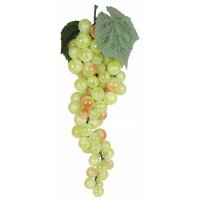 Artificial Green Grapes - 25cm Long