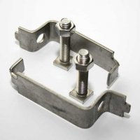 Stainless Steel Back to Back Post Clips for Signs
