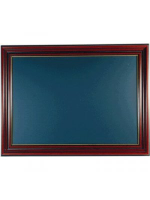 Classic Brown Framed Chalkboard 841 x 1189mm