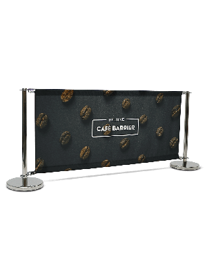 Stainless Steel Cafe Barriers