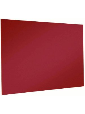 Red Corded Hessian Noticeboard