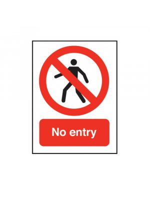 No Entry Swimming Pool Sign
