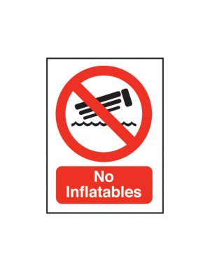No Inflatables Allowed
