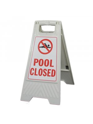 Portable Floor Stands Pool Closed