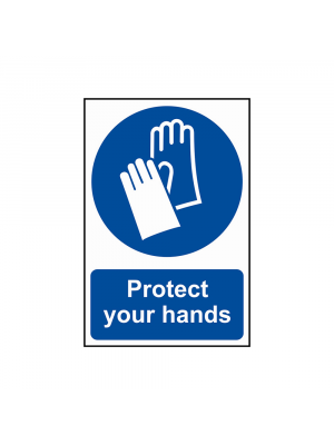 Protect Your Hands Signs