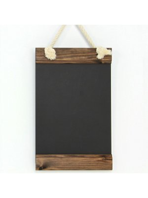 Eaziwipe® Roped Hanging Chalkboards A4