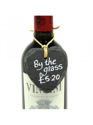 Chalkboard Wine Tags with String