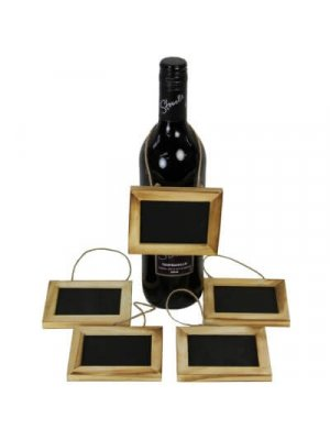 Small Framed Display Chalkboards, Pack of 5