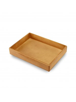 Large Antique Wooden Tray