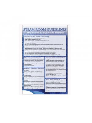 Steam Room Guidelines Notice