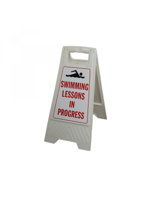 Swimming Lessons In Progress Portable Signs