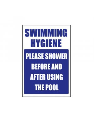 Swimming Hygiene - Please shower before using the swimming pool