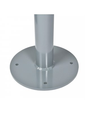 Aluminium Base Plate with 76mm Post