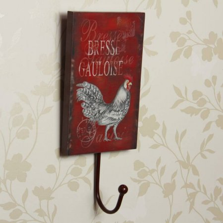 Red French Farmhouse Hook