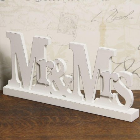 Mr & Mrs Block Sign