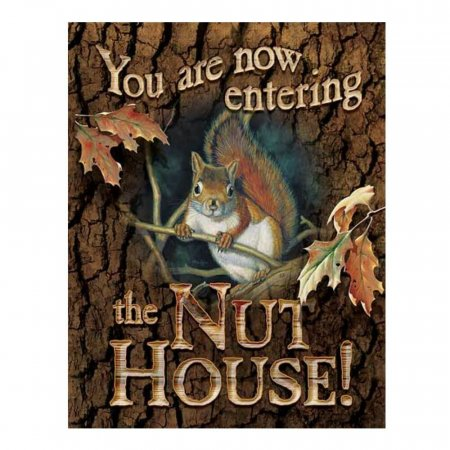 Nut House Wall Sign