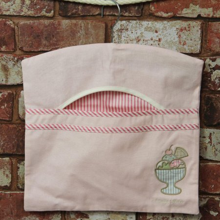 Ice Cream Design Peg Bag