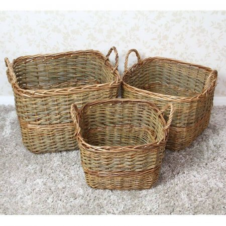 Chunky Square Baskets