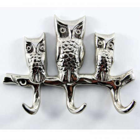Triple Owl Coat Hook
