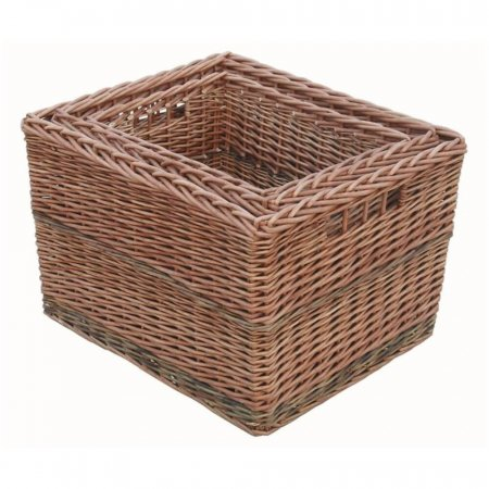 Somerset Rectangular Log Baskets