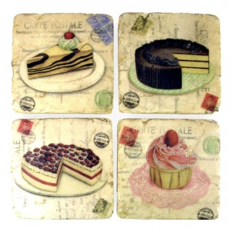 Ceramic Teacake Coasters
