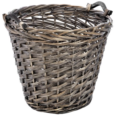 Deep Willow Log Basket
