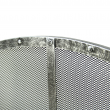 Fire Screen Antique Brushed Silver