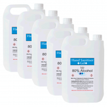 Hand Sanitising Gel - 25 Litre - Min 80% Alcohol