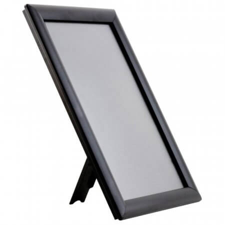 A4 Black Counter Stand Snap Frame