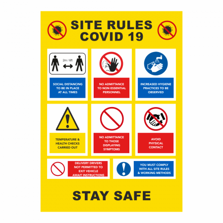 Site Rules Sign