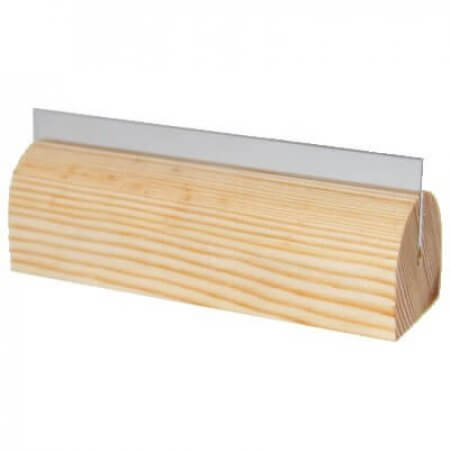 Beech Menu Holder with PVC Gripper
