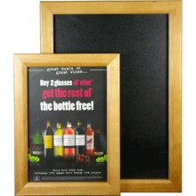 A2 Magnetic Frame with Chalkboard