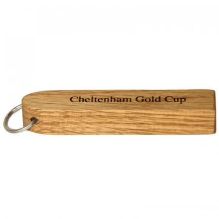 Solid Oak Key Fob Block