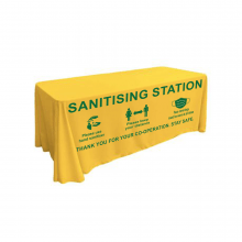 Santising Station Tablecloth