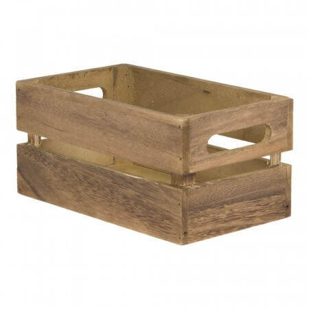 Wooden Table Crate